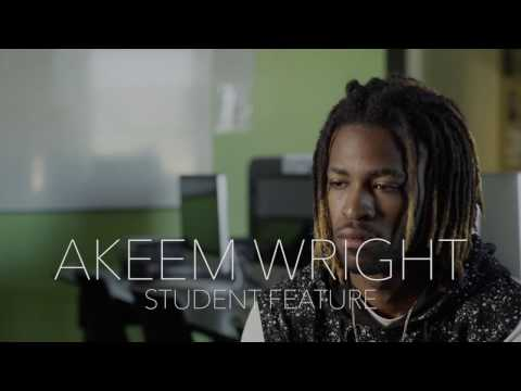 Media Arts & Animation Student Akeem Wright | The Art Institute of California - Hollywood