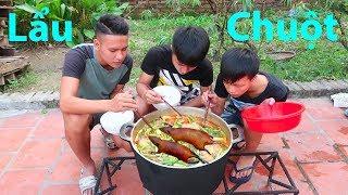 Hữu Bộ | Làm Nồi Lẩu Chuột Đồng Khổng Lồ Kinh Dị Nhất Việt Nam | Mouse Hot Pot