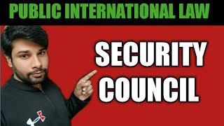 SECURITY COUNCIL OF UNITED NATIONS INTERNATIONAL LAW NADEEM HAIDAR