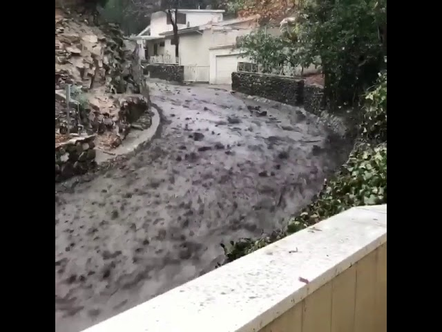 california-mudslides-sweep-away-car-in-shocking-video-caught-by-firefighters