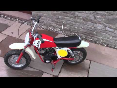 Swm mini cross 50  moto cross. Pit bike scrambler vintage mx