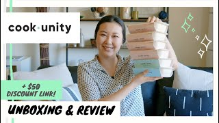 COOK UNITY Unboxing and Review   Cook Unity $30 Discount Code   Cook Unity Packaging