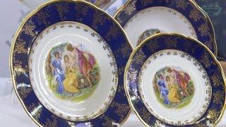 Посуда из белого фарфора Мэри-Энн (Mary-Anne) Мадонна, кобальт 0179 (Leander, Чехия)(, 2017-01-08T21:35:25.000Z)