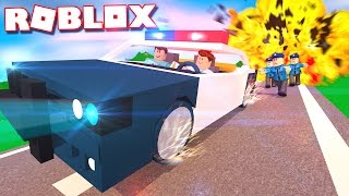 Roblox Adventures - ALEX & CORL STOLE A POLICE CAR IN ROBLOX!? (Neighborhood of Robloxia Roleplay)