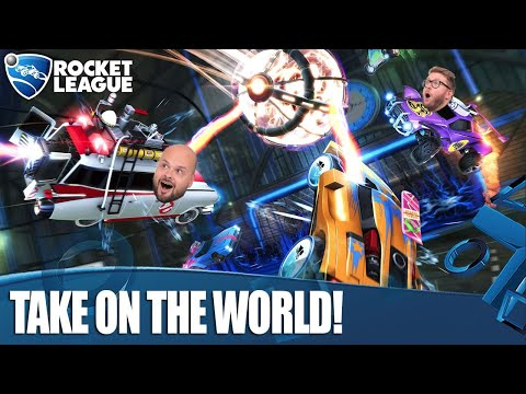 Rocket League Radical Summer - Rob & Dave vs The World