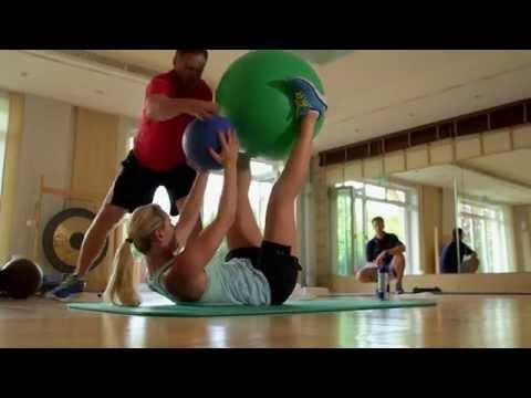 Lindsey Vonn's Comeback starts in the Gym