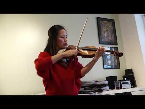Violin Fun at home during Corona lockdown with Ning!