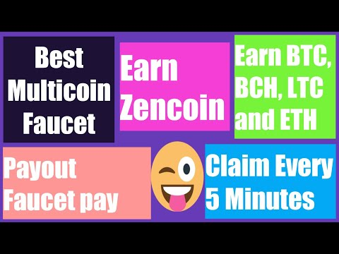 Earn Cryptocurrency without investment/earn BTC,BCH, ETH, LTC and Zen Coin