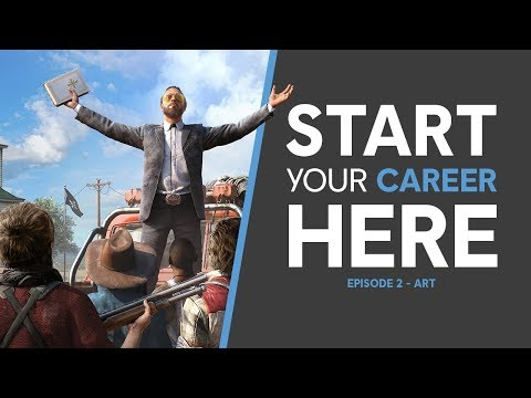 Start Your Career Here - Art