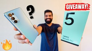 OPPO Reno5 Pro 5G Unboxing & First Look | Dimensity 1000+ | Video Expert | GIVEAWAY🔥🔥🔥