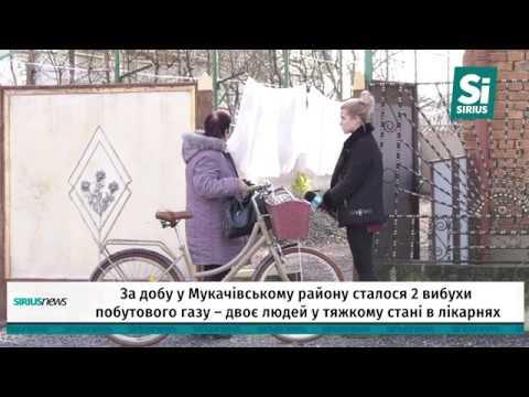 За добу у Мукачівському району сталося 2 вибухи побутового газу