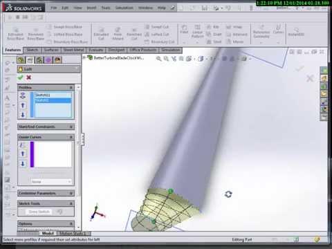 SolidWorks-WindBlade