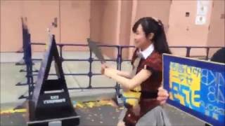 【ユニバ便り②】のえピー(山田野絵)は、支配人をお供にNGT48をアピー...