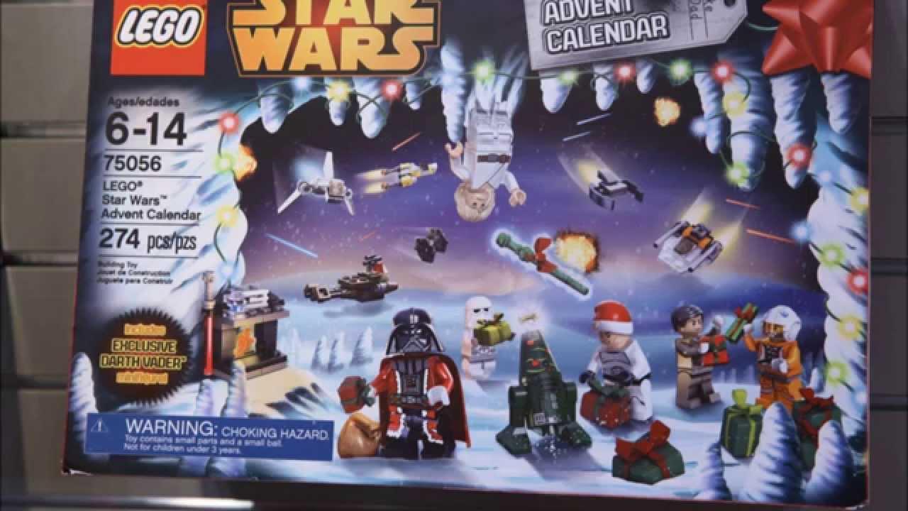 LEGO Star Wars 2014 Advent Calendar Analysis! HD - YouTube