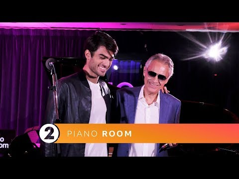 Andrea & Matteo Bocelli  Perfect Symphony Ed Sheeran  Radio 2 Piano Room