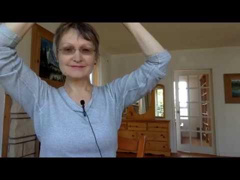 Как убрать живот Оздоровительная программа День 1 Колена