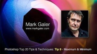 Top Tip 9 - Photoshop CC Tips & Techniques - Maximum and Minimum Filter