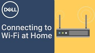 How to connect WiFi at home (Official Dell Tech Support)