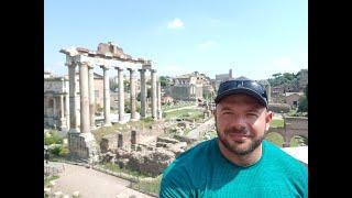 Итальянские каникулы. Прогулки по Риму. Римский форум, Колизей. Часть 3