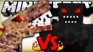 BLACK DEMON VS NASTYSAURUS - Minecraft Batalha de Mobs - Minecraft Mods