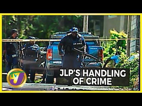 JLP's Handling of Crime in Jamaica   Crime Portfolio   TVJ News - Sept 7 2021