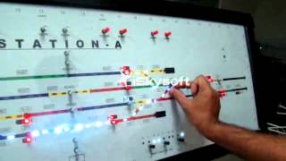 Rail Signalling  Working Model - X