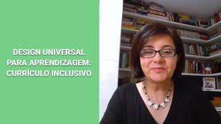 Design Universal para Aprendizagem Currículo Inclusivo