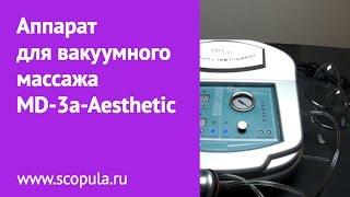 Мастер-класс по вакуумному массажу на аппарате MD-3a-Aesthetic   Scopula.ru