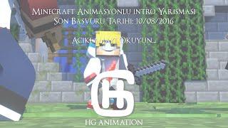 [BİTTİ] Sensei Umut | Minecraft Animasyonlu İntro Yarışması | HG Animation