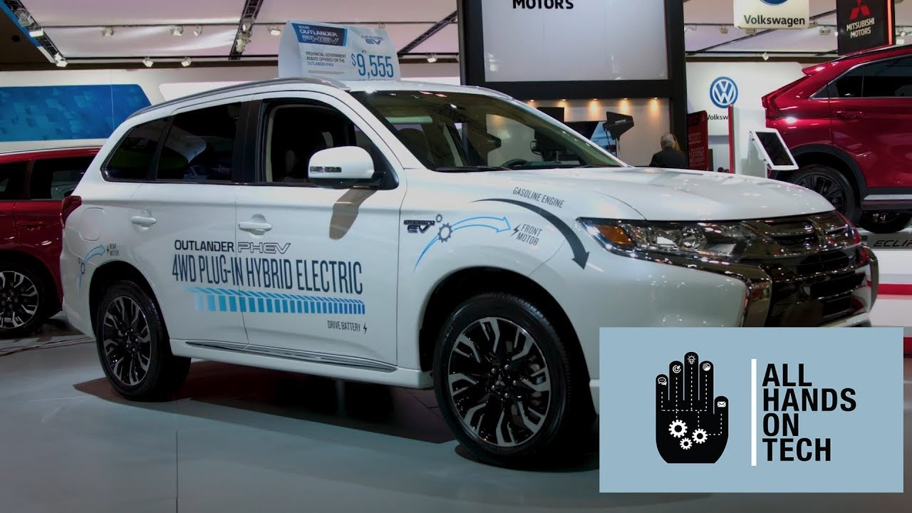 2018 Outlander Phev Is Mitsubishi S First Dual Electric Motor Hybrid