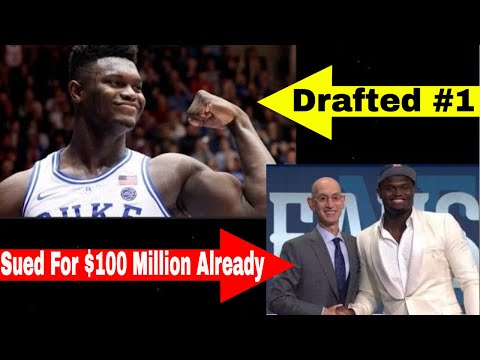 zion-williamson-lawsuit?|-zion-sued-for-$100-million-the-night-before-going-#1-in-the-draft
