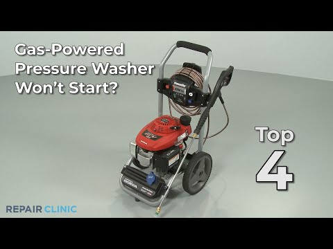 Top Reasons Pressure Washer Won't Start — Pressure WasherTroubleshooting