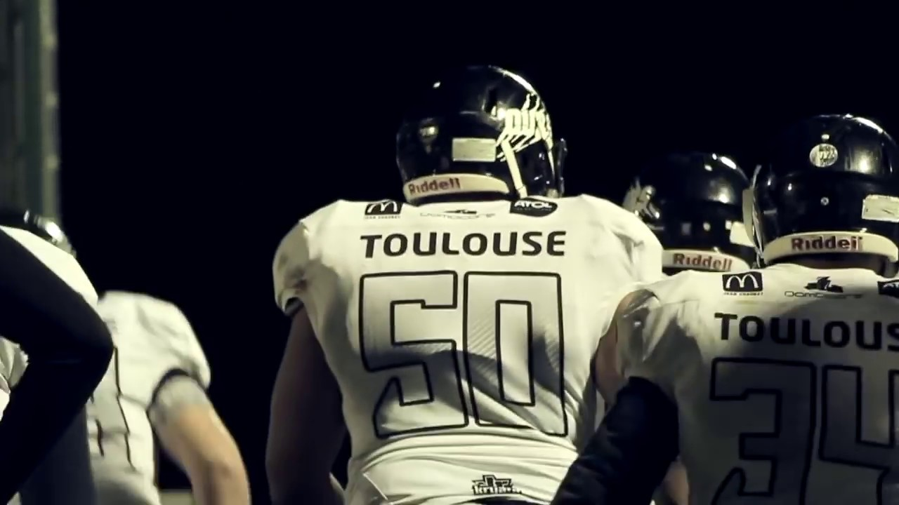 Américain Ours Flag Cheerleading De Football Toulouse UzVLSGqMp