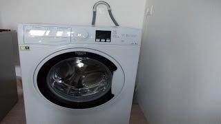 Как установить стиральную машину на примере Hotpoint Ariston RSM 601