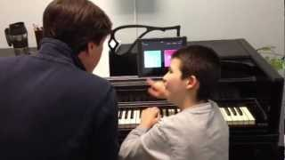 How to Teach a Child with Autism to Communicate using Music