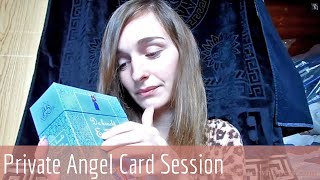 ASMR Soft Spoken RP - Personal Angel Card Reading Session