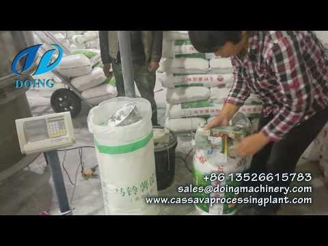 Small Scale Potato Starch Processing Plant Potato Starch Production Machine