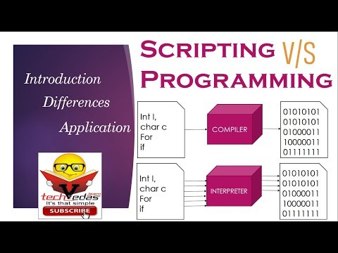 Difference Between Scripting And Programming Language