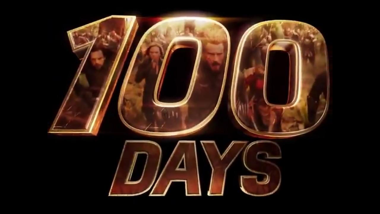 AVENGERS  INFINITY WAR  100 DAYS