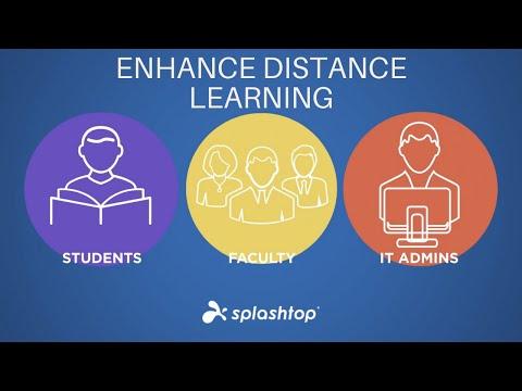 Melhore o ensino a distância com o Acesso Remoto da Splashtop para estudantes, professores e equipe de TI