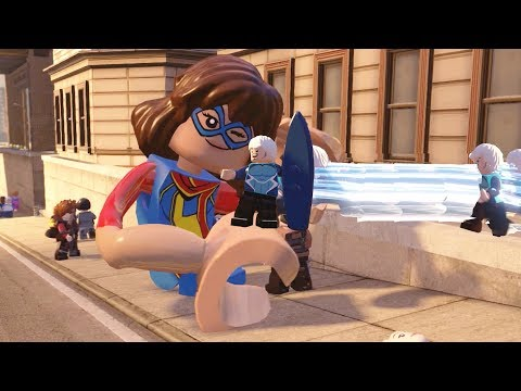 LEGO Marvel's Avengers All Quicksilver & Ms. Marvel Super Moves & How to Unlock PC 4k Ultra HD 2160p
