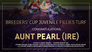Vidéo de la course PMU BREEDERS' CUP JUVENILE FILLIES TURF