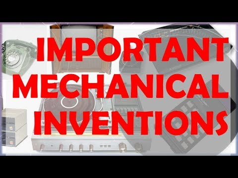 Important Mechanical Inventions - Static GK for Competitive examinations