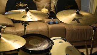 """Zildjian 18"""" K Dark Thin Crash vs. K Custom Dark Crash (Cymbal Test)"""