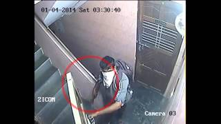 Thieves in the process of Robbing | Caught on Zicom CCTV Camera