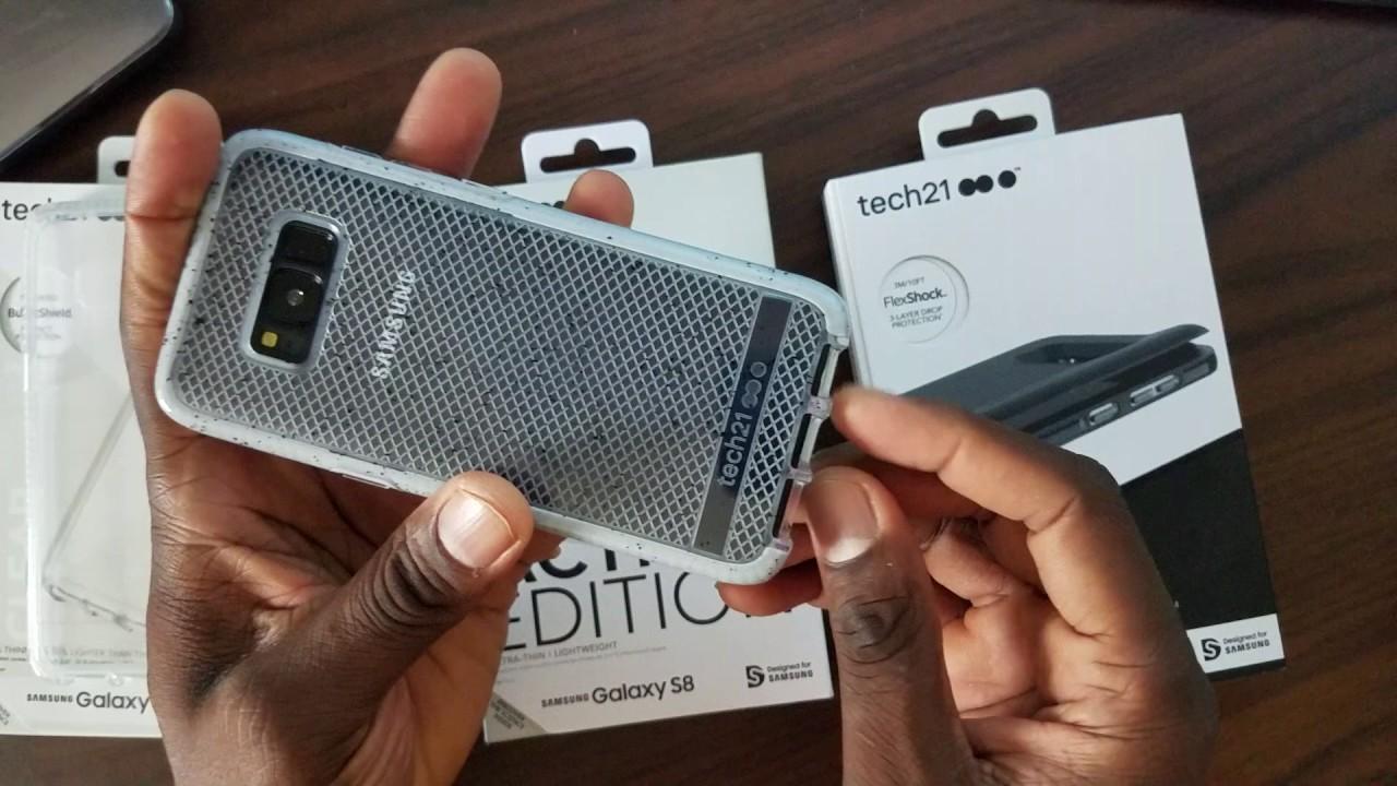 best service 1163e 3ad25 Samsung Galaxy S8 Tech 21 Case lineup