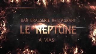 Bar Brasserie Le Neptune à Vias à 20 mètres de la plage