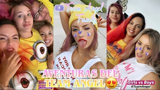 AVENTURAS CON EL TEAM ANGEL!!😍💖 | Team Angel Family 💜