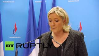 France: Front National now a huge local force - Le Pen