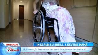 In scaun cu rotile, a devenit mama... (La Maruta / Editia 197)